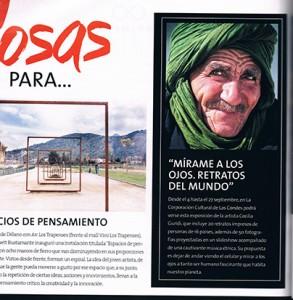 revista Cosas publicidad interior