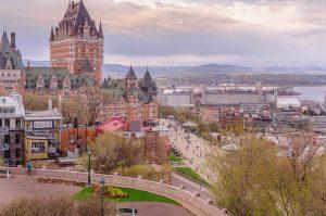 Citadel view Quebec CG